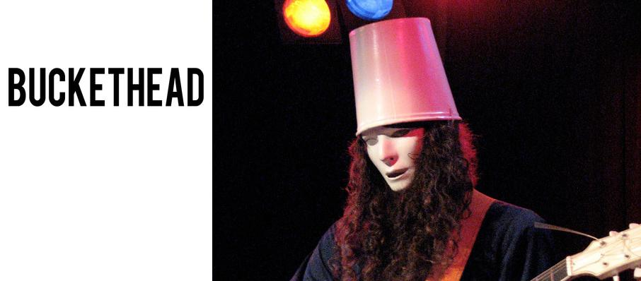 Buckethead at Bogarts