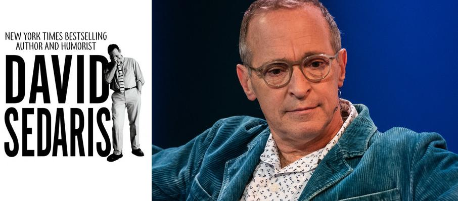David Sedaris at Procter and Gamble Hall