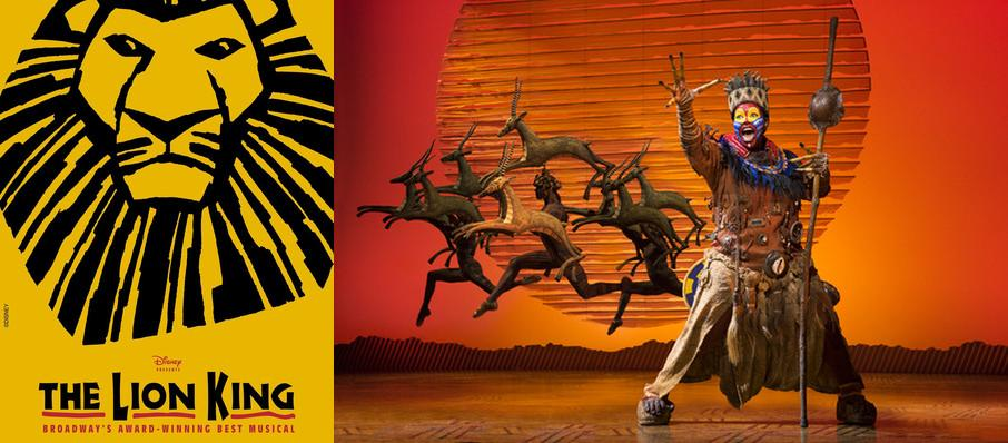 The Lion King at Procter and Gamble Hall