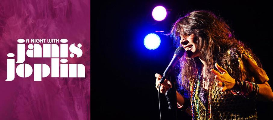 A Night with Janis Joplin at Procter and Gamble Hall