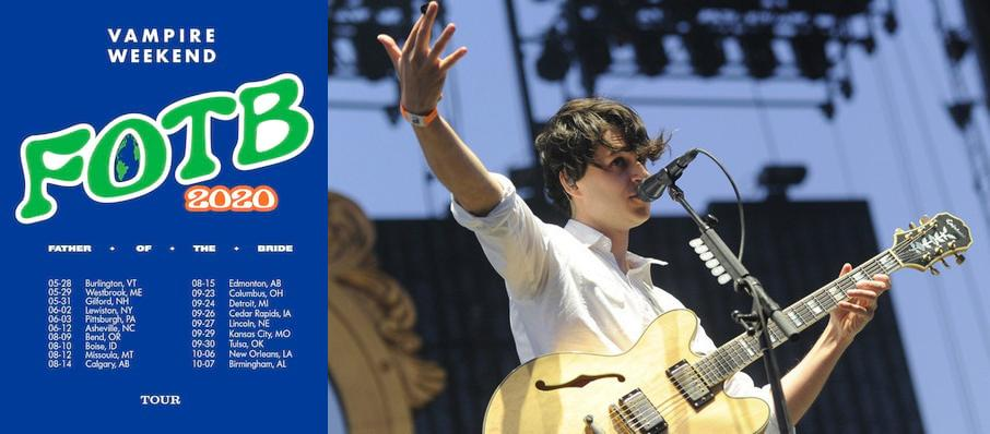 Vampire Weekend at PNC Pavilion