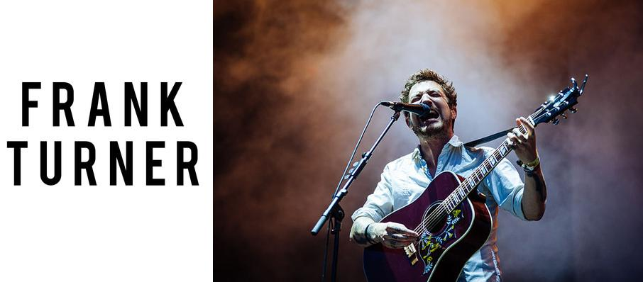 Frank Turner at Bogarts
