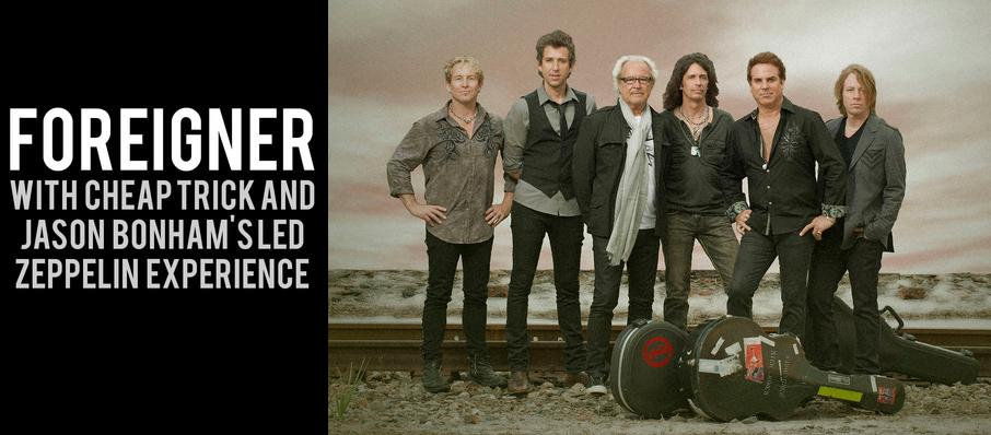 Foreigner with Cheap Trick and Jason Bonhams Led Zeppelin Experience at Riverbend Music Center