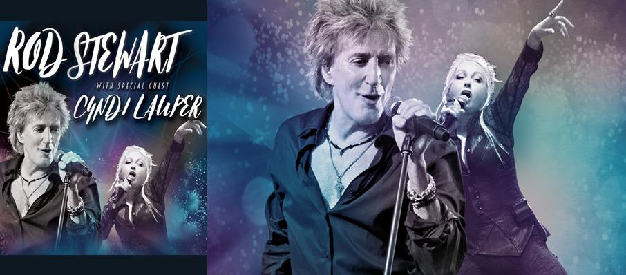 Rod Stewart and Cyndi Lauper at Riverbend Music Center