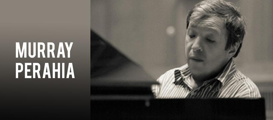 Murray Perahia at Cincinnati Memorial Hall