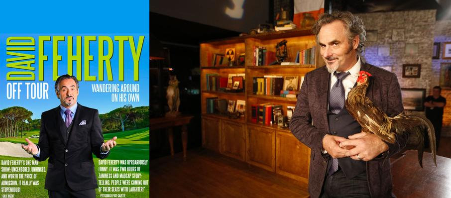 David Feherty at Taft Theatre