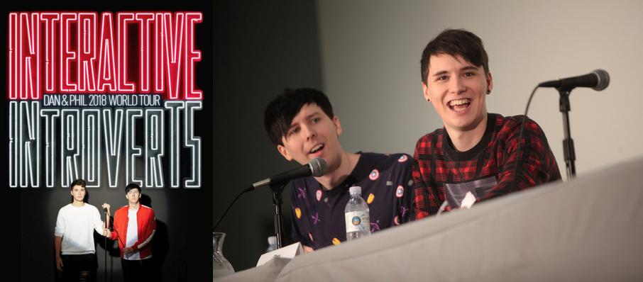 Dan and Phil at Procter and Gamble Hall