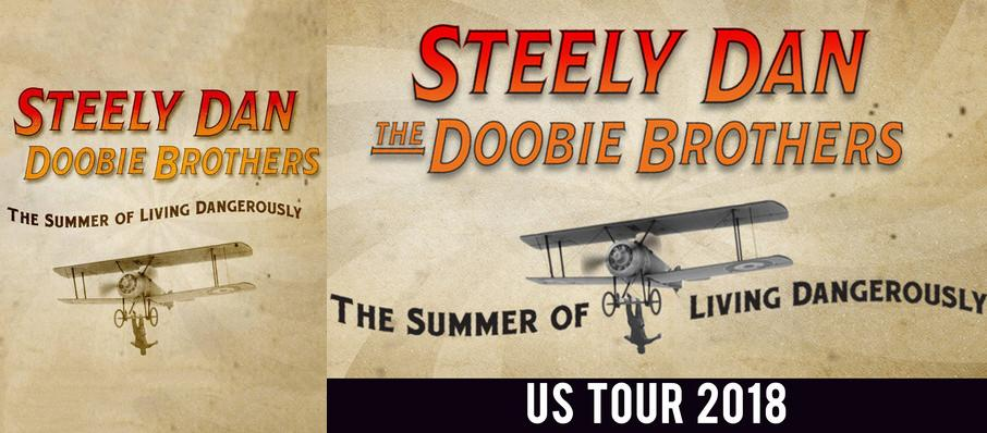 Steely Dan and The Doobie Brothers at Riverbend Music Center