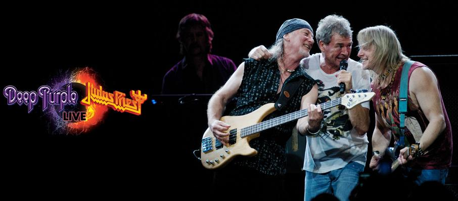 Deep Purple and Judas Priest at Riverbend Music Center