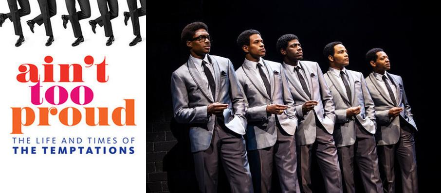 Ain't Too Proud - The Life and Times of the Temptations at Procter and Gamble Hall