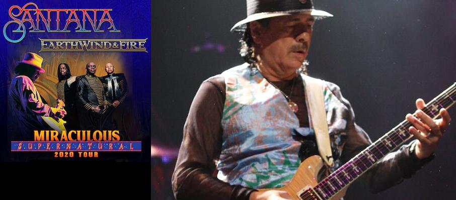 Santana with Earth Wind and Fire at Riverbend Music Center