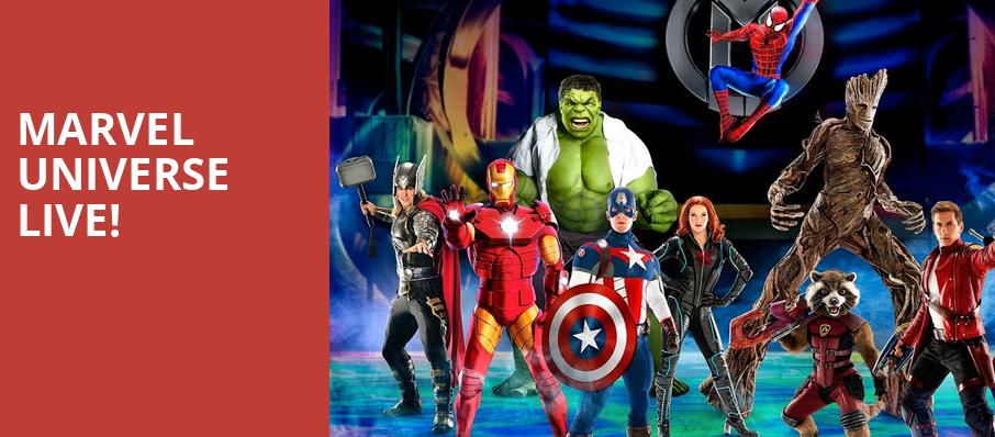 Marvel Universe Live, US Bank Arena, Cincinnati