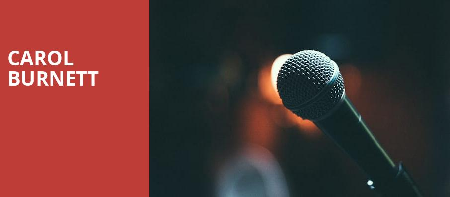 Carol Burnett, Procter and Gamble Hall, Cincinnati