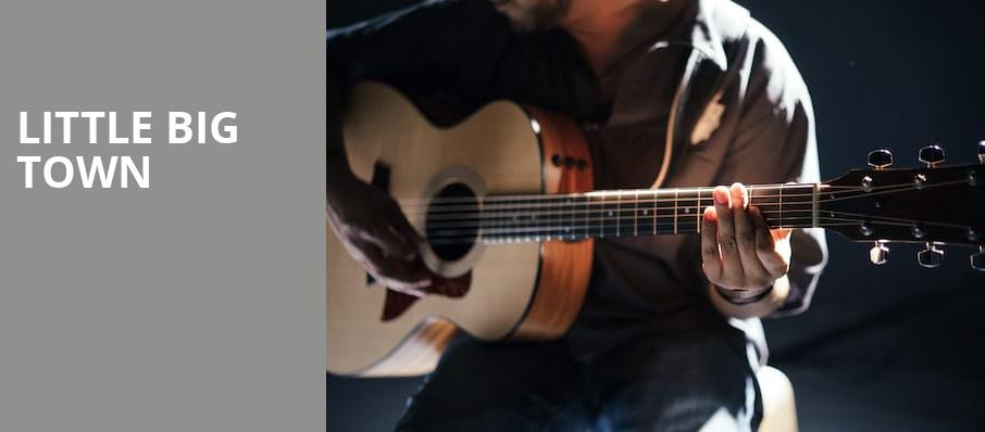 Little Big Town, Taft Theatre, Cincinnati
