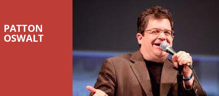 Patton Oswalt, Taft Theatre, Cincinnati