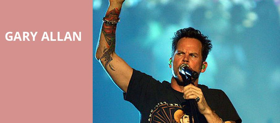 Gary Allan, BBT Arena at Northern Kentucky University, Cincinnati