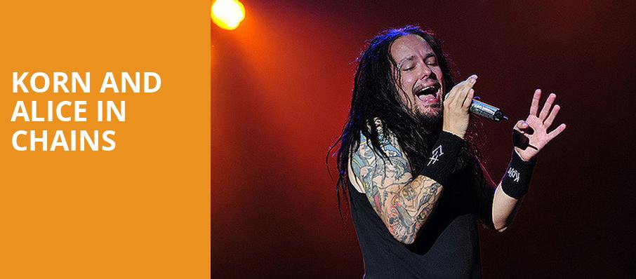 Korn and Alice in Chains, Riverbend Music Center, Cincinnati