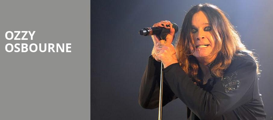 Ozzy Osbourne, Riverbend Music Center, Cincinnati