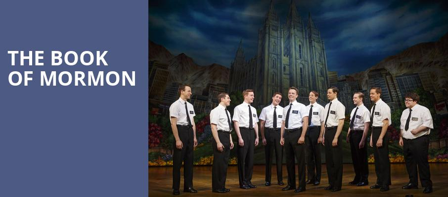 The Book of Mormon, Procter and Gamble Hall, Cincinnati