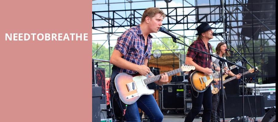 Needtobreathe, PNC Pavilion, Cincinnati