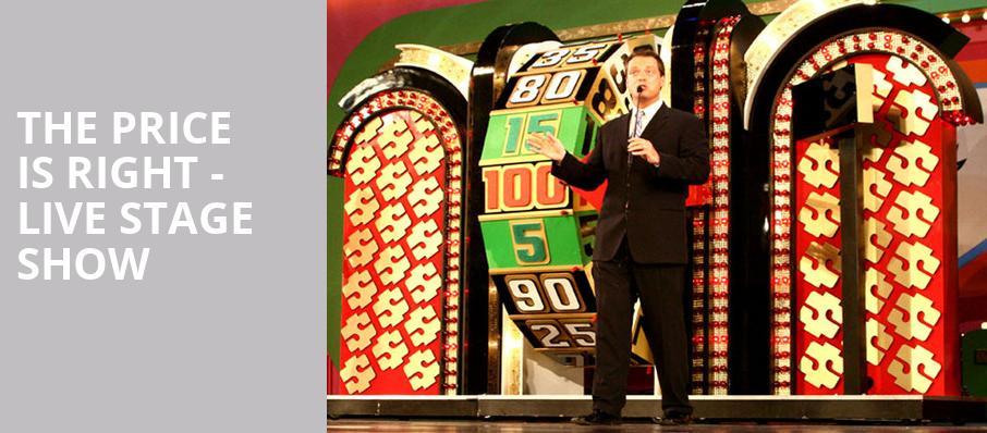 The Price Is Right Live Stage Show, Procter and Gamble Hall, Cincinnati