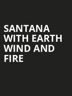 Santana with Earth Wind and Fire, Riverbend Music Center, Cincinnati